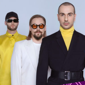 Na vizualu se nalaze predstavnici Estonije, Litve i Latvije na Eurosongu 2021-