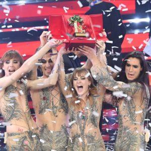 Måneskin Italija Eurosong 2021.
