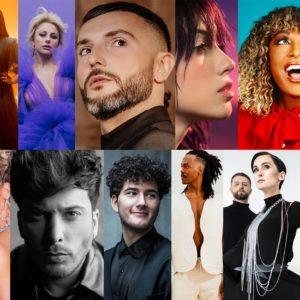 Kolaž predstavnka na Eurosongu 2021