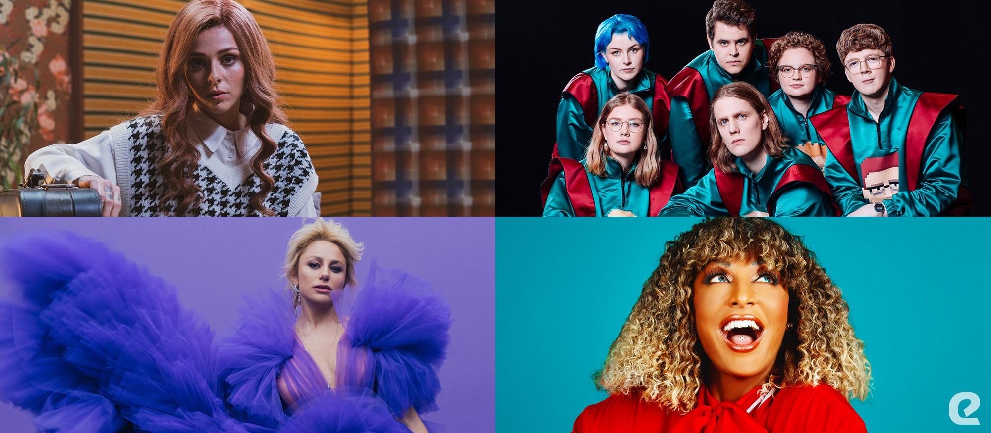Na vizualu su predstavnici Bugarske, Islanda, Moldove i San Marina na Eurosongu 2021