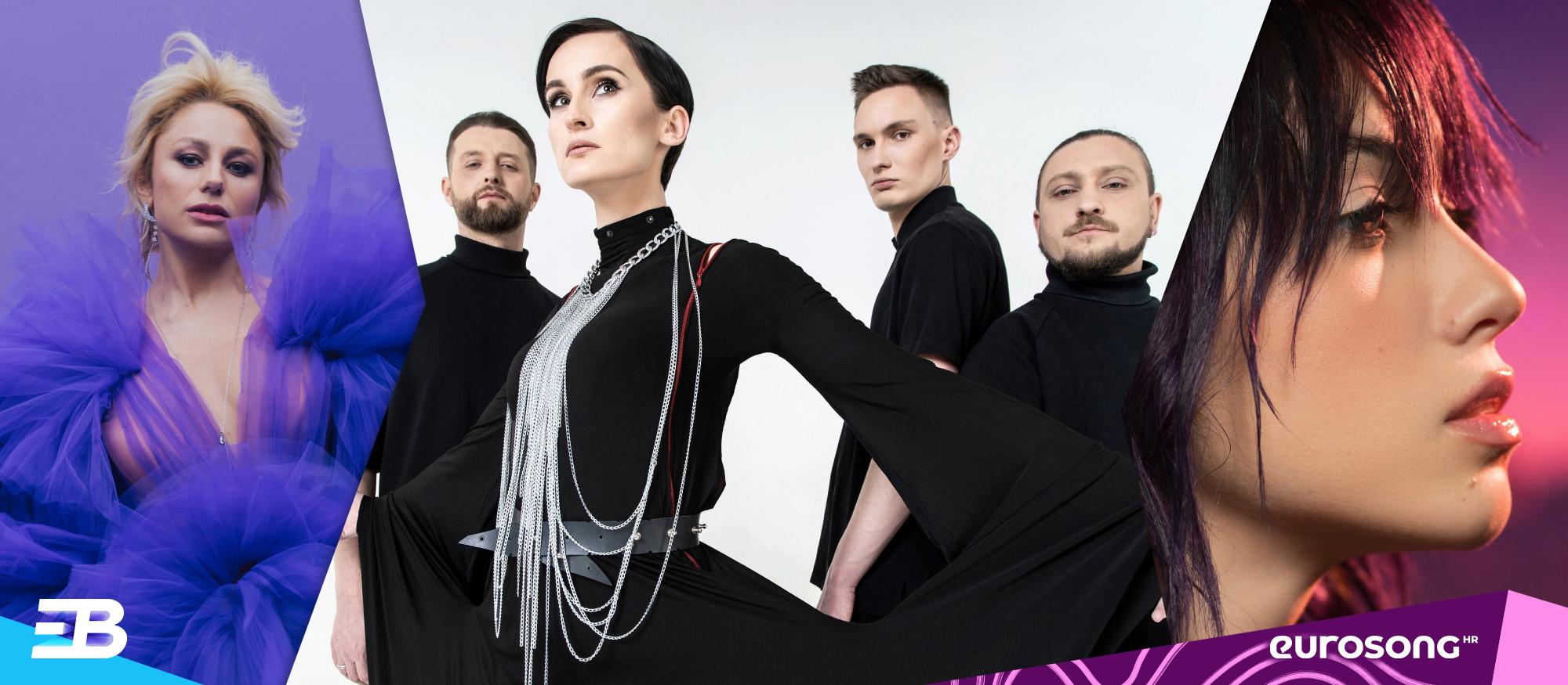 Na vizualu su predstavnici Moldove, Ukrajine i Rumunjske na Eurosongu 2021