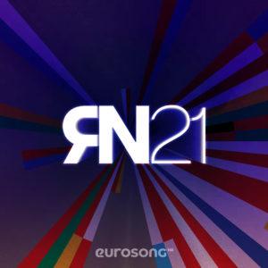 Na vizualu inspiriranom logom Eurosonga 2021 nalazi se ispis RN2021
