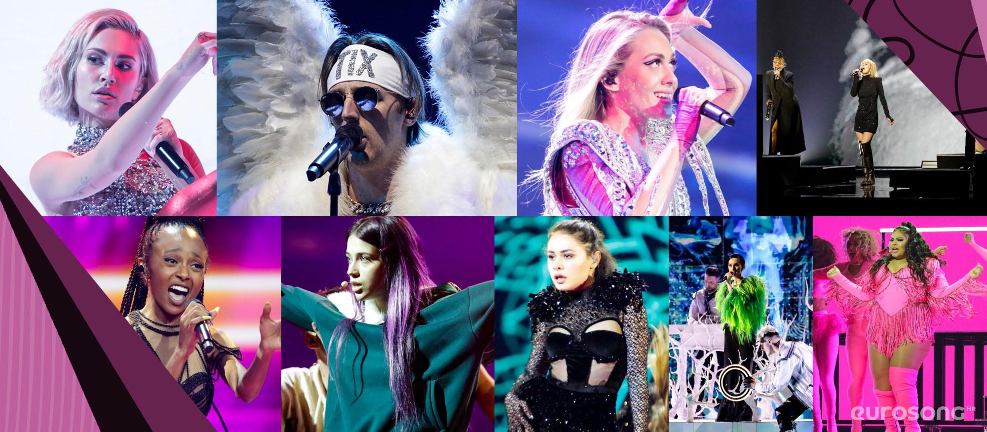 Eurosong 2021. - prve probe
