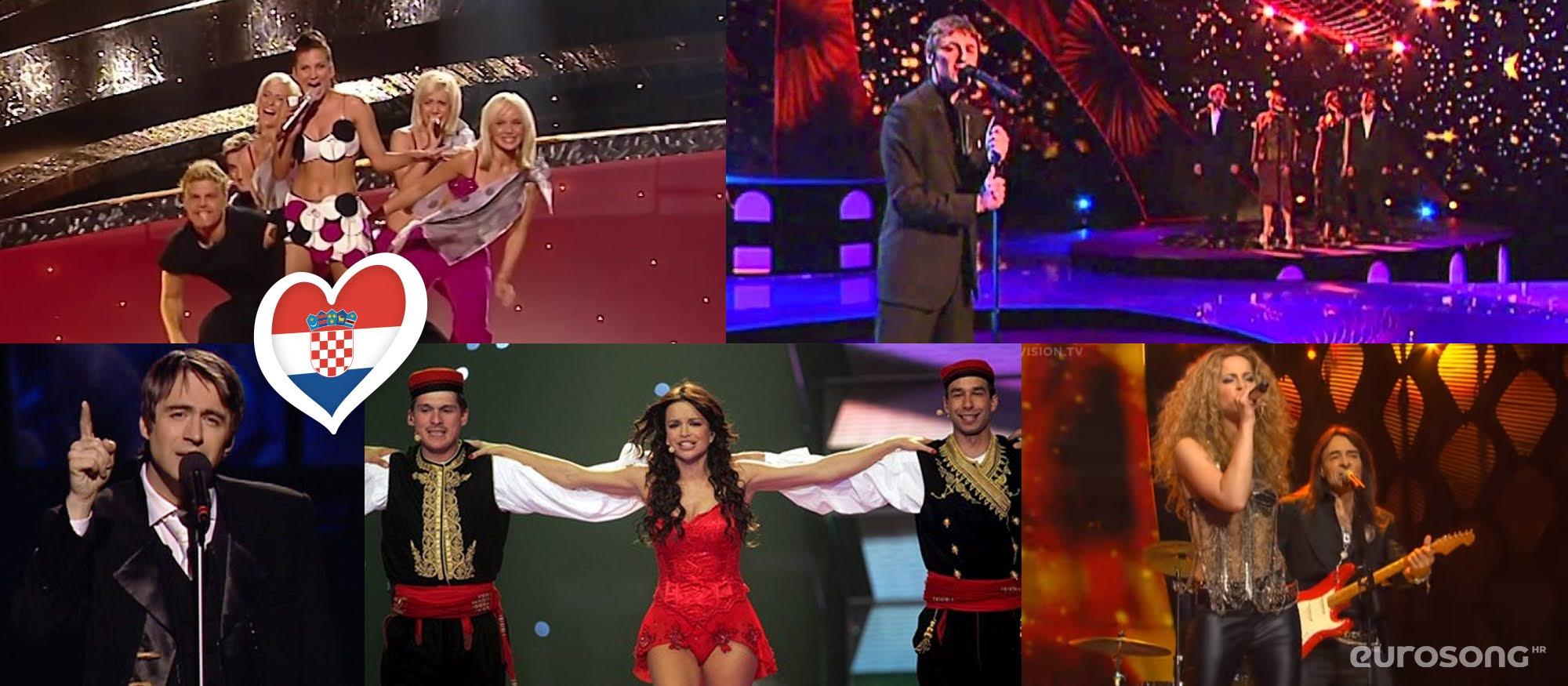 Hrvatska na Eurosongu: izvođači od 2003. do 2007.