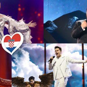 Hrvatska na Eurosongu: izvođači od 2016. do 2020.
