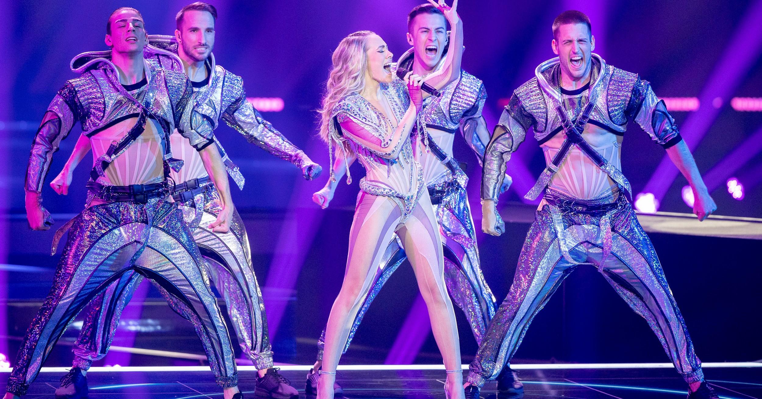 Albinaa nastup u polufinalu Eurosonga