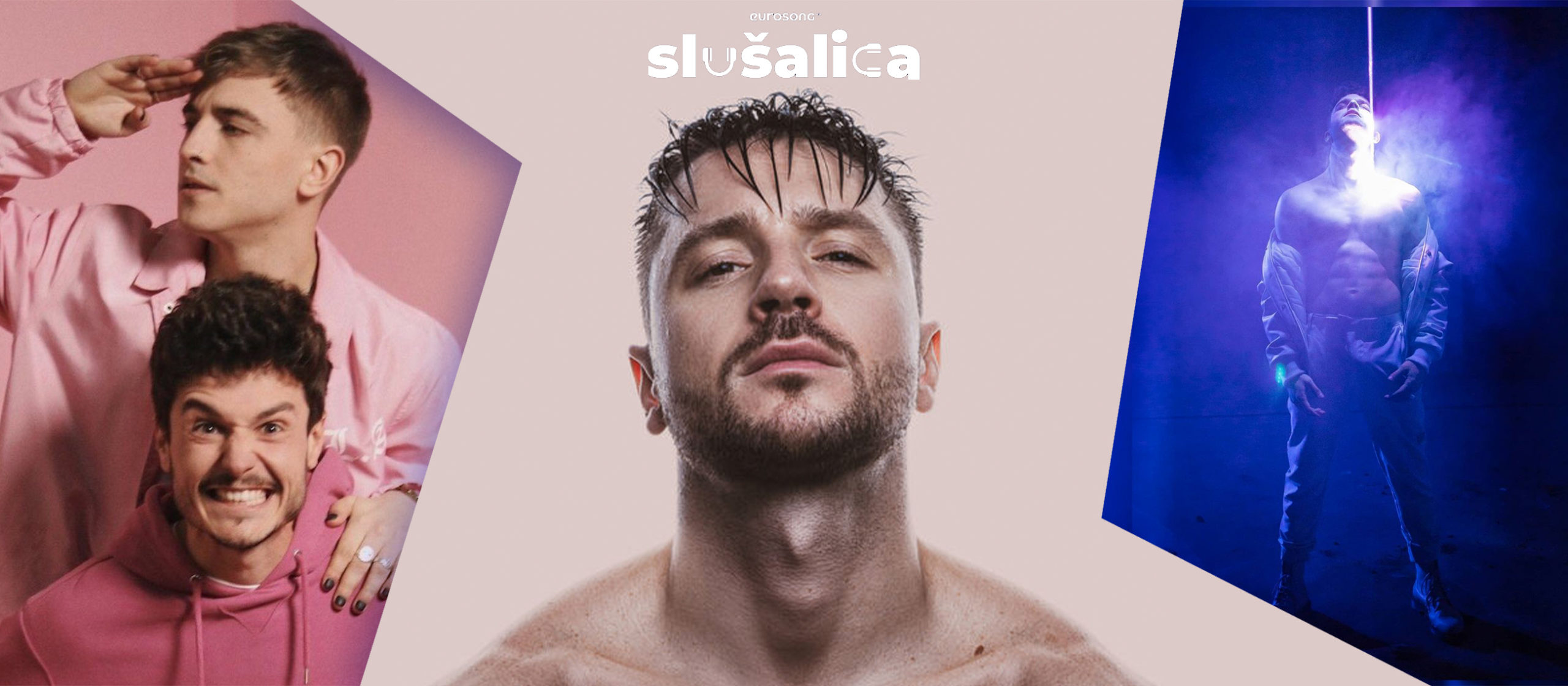 Eurosong Slušalica vizual za strani hit travnja/aprila 2021, Manel Navarro, Miki Nunez, Sergej Lazarev, Luca Hanni