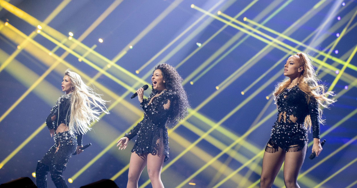 Eurosong 2021. - Srbija, Hurricane, prva proba