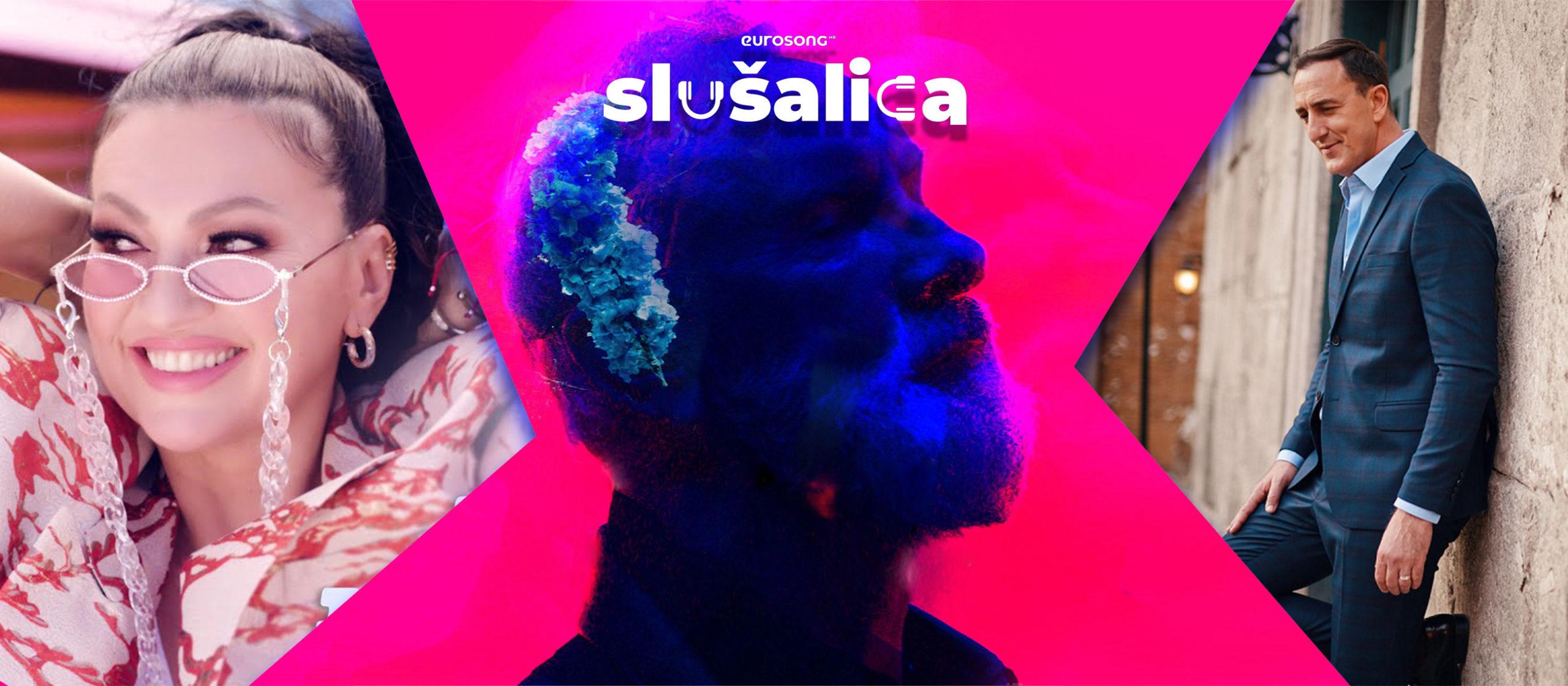 Eurosong Slušalica vizual za domaći hit svibnja/maja 2021, Nina Badrić, Dino Merlin, Sergej Ćetković