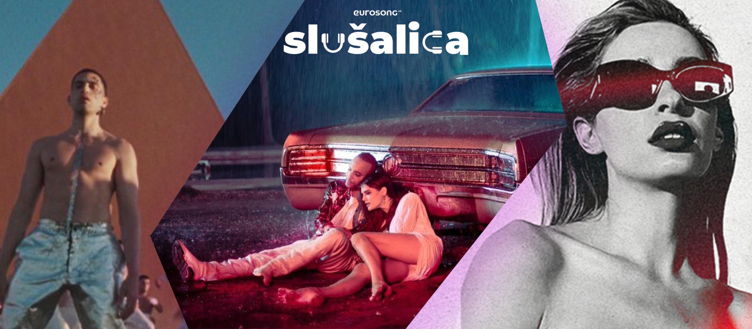 Eurosong Slušalica vizual za strani hit svibnja/maja 2021, Mahmood, Arash, Eleni Foureira