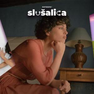 Eurosong Slušalica vizual za strani hit lipnja/juna 2021, Lena Meyer Landrut, Barbara Pravi, Dadi Freyr