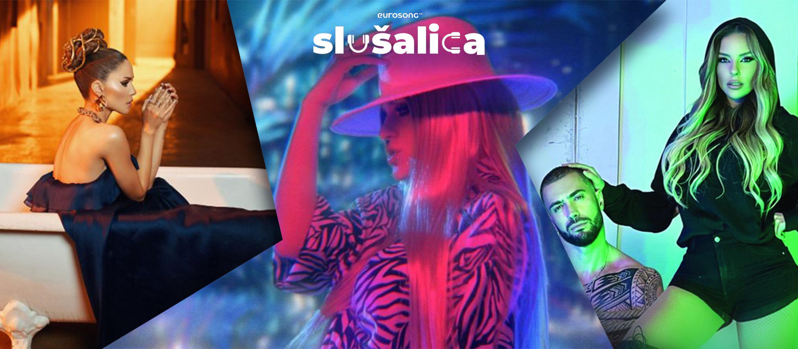 Eurosong Slušalica vizual za strani i domaći hit lipnja/juna 2021,
