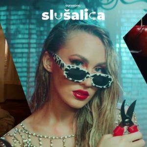 Eurosong Slušalica vizual za strani i domaći hit srpnja/jula 2021., Elis Lovrić, Albina, Maneskin